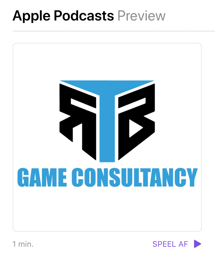 Game Consultant Podcast Apple Itunes