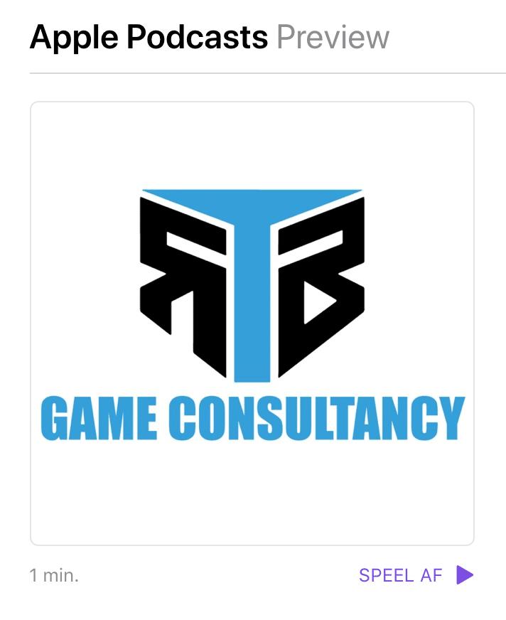 Game Consultant Podcast Apple Itunes